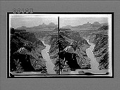 view Up the Colorado River from Pyrites Point to Zoroaster Tower. 6099 Interpositive digital asset: Up the Colorado River from Pyrites Point to Zoroaster Tower. 6099 Interpositive.