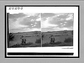view Evening on the desert--Navajo Indian Reservation, Indian trading post, Canyon Diablo, Navajo Reservation, Arizona. [Active no. 6165 : stereo interpositive.] digital asset: Evening on the desert--Navajo Indian Reservation, Indian trading post, Canyon Diablo, Navajo Reservation, Arizona. [Active no. 6165 : stereo interpositive.]