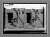 view Hopi Indian woman's occupation--baby nursing and basket-weaving--Oraibi, Arizona. 6177 Interpositive digital asset: Hopi Indian woman's occupation--baby nursing and basket-weaving--Oraibi, Arizona. 6177 Interpositive.