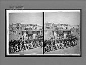 view The Kachina dance to the rain god, Hopi Indian village, Shonghopavi, Arizona. 6181 Interpositive digital asset: The Kachina dance to the rain god, Hopi Indian village, Shonghopavi, Arizona. 6181 Interpositive.