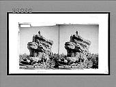 view Balancing Rock (300 tons), Garden of the Gods, Colorado. 6209 Interpositive digital asset: Balancing Rock (300 tons), Garden of the Gods, Colorado. 6209 Interpositive.
