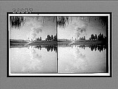 """view Mirrored beauty of majestic """"Old Faithful,"""" east to Continental Divide. 6264 interpositive digital asset: Mirrored beauty of majestic """"Old Faithful,"""" east to Continental Divide. 6264 interpositive."""
