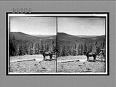 view West from the Continental Divide over Shoshone Lake to the distant Grand Teton. 6267 interpositive digital asset: West from the Continental Divide over Shoshone Lake to the distant Grand Teton. 6267 interpositive.