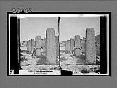view Hall of monolith columns, prehistoric ruins of Mitla. 6358 Interpositive digital asset: Hall of monolith columns, prehistoric ruins of Mitla. 6358 Interpositive.