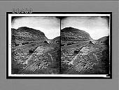 view Where ships will sail through a mountain--famous Culebra Cut, finished depth 330 feet--(S.E.)--Panama Canal. 6459 interpositive digital asset: Where ships will sail through a mountain--famous Culebra Cut, finished depth 330 feet--(S.E.)--Panama Canal. 6459 interpositive.