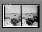 view A heavy old-time gun, Morro Castle, S.E. up harbor entrance--Cathedral (distant right). 6482 Interpositive digital asset: A heavy old-time gun, Morro Castle, S.E. up harbor entrance--Cathedral (distant right). 6482 Interpositive.