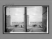 view From within Morro Castle, S. over harbor entrance to City. [Active no. 6483 : stereo interpositive.] digital asset: From within Morro Castle, S. over harbor entrance to City. [Active no. 6483 : stereo interpositive.]