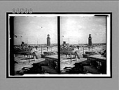 view Over Morro Castle (built XVI Cent.) and Lighthouse S. to the City. 6484 Interpositive digital asset: Over Morro Castle (built XVI Cent.) and Lighthouse S. to the City. 6484 Interpositive.