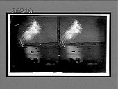 view Saluting the new-born Star, Cuba--fireworks May 20, 1902, from Morro Castle (S.). [Active no. 6486 : stereo interpositive,] digital asset: Saluting the new-born Star, Cuba--fireworks May 20, 1902, from Morro Castle (S.). [Active no. 6486 : stereo interpositive,] 1902.