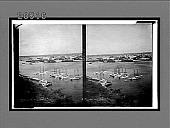 view Havana and its harbor, from near Cabana Fortress, south. 6491 Interpositive digital asset: Havana and its harbor, from near Cabana Fortress, south. 6491 Interpositive.