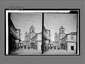 view The Cathedral, Havana (W.) from which Columbus' remains were removed to Spain, 1898. 6506 Interpositive digital asset: The Cathedral, Havana (W.) from which Columbus' remains were removed to Spain, 1898. 6506 Interpositive.