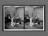 view [Recreation room scene.] 7077 interpositive digital asset: [Recreation room scene.] 7077 interpositive.