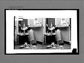 view [Couple quarrel in home.] 7148 interpositive digital asset: [Couple quarrel in home.] 7148 interpositive.