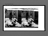 view [Coeds capture male intruder in college dormitory setting. Active no. 7314 : stereo interpositive.] digital asset: [Coeds capture male intruder in college dormitory setting. Active no. 7314 : stereo interpositive.]