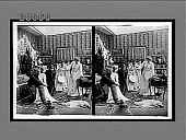 view [Five coeds in dormitory room; woman in bridal gown kisses stuffed dummy of a young man as others watch. Active no. 7333 : stereo interpositive.] digital asset: [Five coeds in dormitory room; woman in bridal gown kisses stuffed dummy of a young man as others watch. Active no. 7333 : stereo interpositive.]