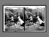 view [Five coeds in dorm, as housemother with lighted candle discovers two of them hiding under bed. Active no. 7337 : stereo interpositive.] digital asset: [Five coeds in dorm, as housemother with lighted candle discovers two of them hiding under bed. Active no. 7337 : stereo interpositive.]