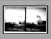 view Enormous 11-in. shell from Japanese siege gun, beginning its deadly flight into Port Arthur. 7559 Interpositive digital asset: Enormous 11-in. shell from Japanese siege gun, beginning its deadly flight into Port Arthur. 7559 Interpositive