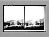 view Great 11-in. Japanese siege guns firing 500 lb. shells into Port Arthur. 7560 Interpositive digital asset: Great 11-in. Japanese siege guns firing 500 lb. shells into Port Arthur. 7560 Interpositive