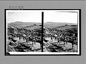 view Japanese troops advancing into position--on the investment line--siege of Port Arthur. 7565 Interpositive digital asset: Japanese troops advancing into position--on the investment line--siege of Port Arthur. 7565 Interpositive