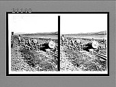 view Great guns ready to take over the hills to their emplacements in Japanese siege lines, Port Arthur. 7590 interpositive digital asset: Great guns ready to take over the hills to their emplacements in Japanese siege lines, Port Arthur. 7590 interpositive.