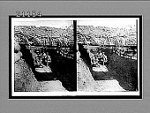 view Keeping below the dead line--in Japanese trenches near the Russian forts, Port Arthur. 7596 Interpositive digital asset: Keeping below the dead line--in Japanese trenches near the Russian forts, Port Arthur. 7596 Interpositive