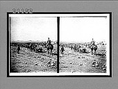 view Japanese transports carrying food from Choraizi Station to front lines--siege of Port Arthur. 7604 Interpositive digital asset: Japanese transports carrying food from Choraizi Station to front lines--siege of Port Arthur. 7604 Interpositive.