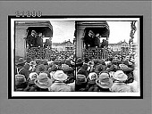 view [Theodore Roosevelt campaigning from rear car of train.] 7675 interpositive digital asset: [Theodore Roosevelt campaigning from rear car of train.] 7675 interpositive.