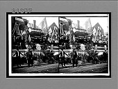 "view President Roosevelt and Booker Washington reviewing the 61 ""Industry"" floats. [Active no. No. 7832 : stereoscopic interpositive.] digital asset: President Roosevelt and Booker Washington reviewing the 61 ""Industry"" floats. [Active no. No. 7832 : stereoscopic interpositive.]"