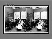 view [Small indoor classroom scene. Active no. 7873 : stereo interpositive.] digital asset: [Small indoor classroom scene. Active no. 7873 : stereo interpositive.]