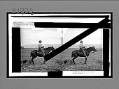 view Cowboy of the prairies--Morley, Alberta. No. 8063 : glass stereo interpositive digital asset: Cowboy of the prairies--Morley, Alberta. No. 8063 : glass stereo interpositive.