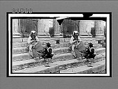 view Peasant children on the steps of the Temple of Vesta. 8094 Interpositive digital asset: Peasant children on the steps of the Temple of Vesta. 8094 Interpositive.