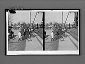view Admiral Togo, Japan's naval hero, alighting from a jinrikisha at Hongwanji Temple. No. 8126 : stereo interpositive digital asset: Admiral Togo, Japan's naval hero, alighting from a jinrikisha at Hongwanji Temple. No. 8126 : stereo interpositive.