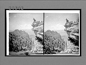 view [Tourists looking into Grand Canyon.] 8158 Interpositive digital asset number 1