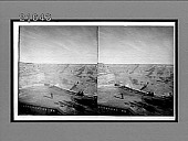 view [Tourists looking into Grand Canyon.] 8160 Interpositive digital asset number 1