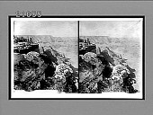view [Tourists looking into Grand Canyon.] 8171 Interpositive digital asset number 1