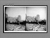 view [Earthquake, San Francisco] : Caption 8184 : stereoscopic interpositive digital asset: [Earthquake, San Francisco] : Caption 8184 : stereoscopic interpositive, 1906.