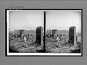 view In the ruined city--from Powell to California Sts., N.E. to Telegraph Hill. 8186 Interpositive digital asset: In the ruined city--from Powell to California Sts., N.E. to Telegraph Hill. 8186 Interpositive 1906.
