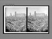 view From Howard and 7th Sts., over blocks of ruins to Post Office and City Hall. 8188 Interpositive digital asset: From Howard and 7th Sts., over blocks of ruins to Post Office and City Hall. 8188 Interpositive 1906.