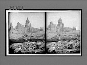 view Havoc of the terrible earthquake--ruins of the once magnificent City Hall. [Active no. 8189 : stereo interpositive,] digital asset: Havoc of the terrible earthquake--ruins of the once magnificent City Hall. [Active no. 8189 : stereo interpositive,] 1906.