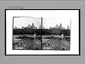 view [River boats and Parliament Buillding in Ottawa.] 8482 interpositive digital asset: [River boats and Parliament Buillding in Ottawa.] 8482 interpositive 1908.