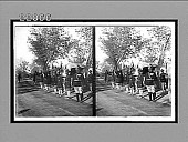 view [Troops line road beside hospital in India.] 8685 interpositive digital asset: [Troops line road beside hospital in India.] 8685 interpositive 1906.