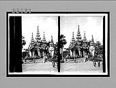 view Entrance to Shiva Dagon Pagoda. 8781 Interpositive digital asset: Entrance to Shiva Dagon Pagoda. 8781 Interpositive 1906.