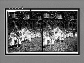 view An oasis in a great city--poor children at Day Nursery, Grace Church. [Active no. 9012 stereo interpositive.] digital asset: An oasis in a great city--poor children at Day Nursery, Grace Church. [Active no. 9012 stereo interpositive.]