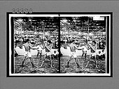 view Fight between best of 50 couples (champion at left)--funeral festivity at Mandalay. 9031 interpositive digital asset: Fight between best of 50 couples (champion at left)--funeral festivity at Mandalay. 9031 interpositive.
