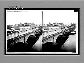 view Bridge over the Shannon from Leinster to Connaught, scene of many battles, (W.), Athlone. 9115 interpositive digital asset: Bridge over the Shannon from Leinster to Connaught, scene of many battles, (W.), Athlone. 9115 interpositive.