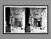 view Drunken dance of the eight-armed divinity, Shiva (W.), rock-hewn temple, Elephanta. 9133 Interpositive digital asset: Drunken dance of the eight-armed divinity, Shiva (W.), rock-hewn temple, Elephanta. 9133 Interpositive.