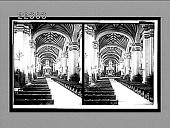 view Cathedral interior with famous golden pulpit and altar inlaid with jewels. 9222 Interpositive digital asset: Cathedral interior with famous golden pulpit and altar inlaid with jewels. 9222 Interpositive.