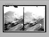 "view Giant steam-shovel ""making the dirt fly"" in deep cut at Culebra, Panama Canal. 9360 Interpositive digital asset: Giant steam-shovel ""making the dirt fly"" in deep cut at Culebra, Panama Canal. 9360 Interpositive 1905."