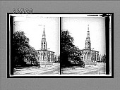 view The Martyrs' Memorial to Cranmer, Latimer and Ridley on spot where they died. [Active no. 9385 : stereo interpositive,] digital asset: The Martyrs' Memorial to Cranmer, Latimer and Ridley on spot where they died. [Active no. 9385 : stereo interpositive,] 1905.