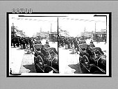 view [Early automobiles in city.] 9755 interpositive digital asset: [Early automobiles in city.] 9755 interpositive.